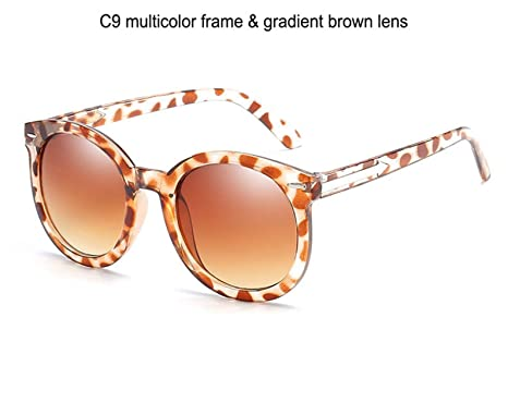 Amazon.com: Bnialaed Round Mirror Lens Sunglasses Women ...