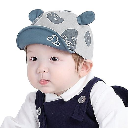 0b21fc2e136e Kids Baby Girls Boys Safari Baseball Cap Infant Toddler Soft Turnover Brim  Cotton Peaked Cap Sun