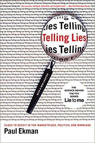 telling lies clues to deceit in the marketplace politics and marriage paul ekman 9780393337457 amazoncom books