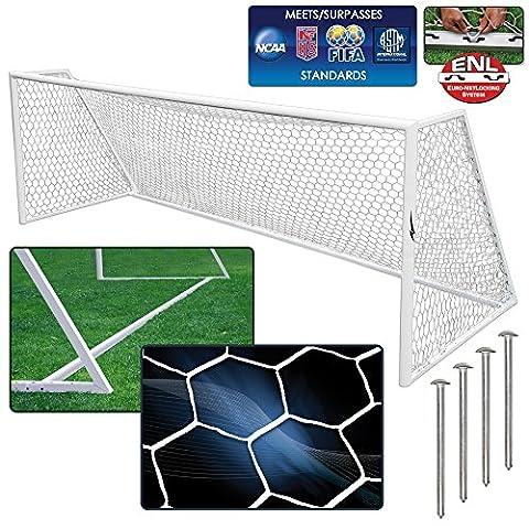 AGORA Euro Pro Soccer Goal Kit - 8'x24' - 4mm Htpp Net