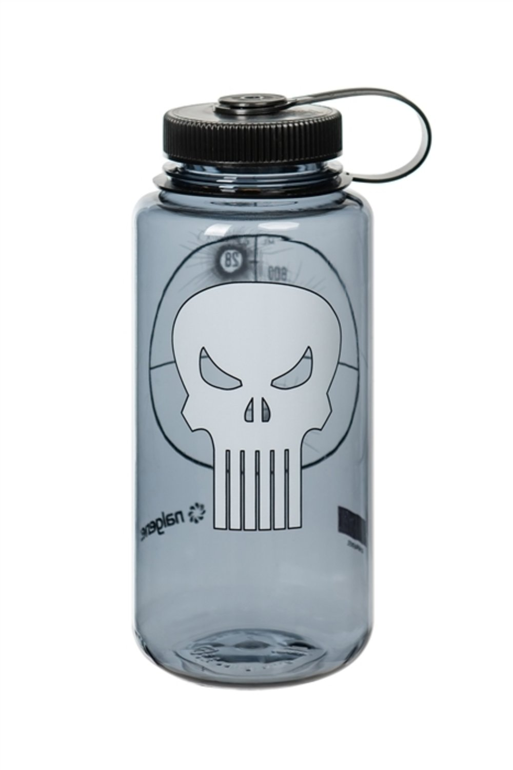 Nalgene Tritan Wide Mouth BPA-Free Water Bottle, 32 Oz, Punisher