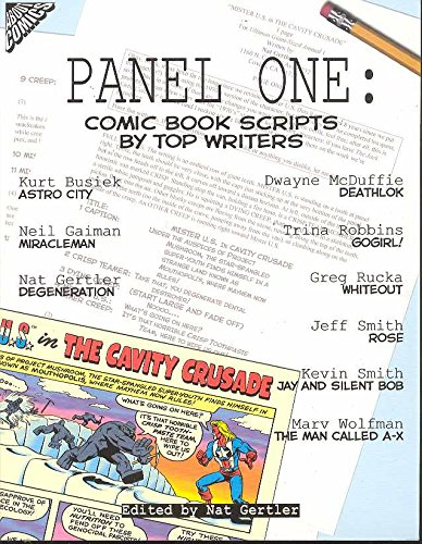 Panel One: Comic Book Scripts by Top Writers (Panel One Scripts by Top Comics Writers Tp (New Prtg)) by Brand: About Comics
