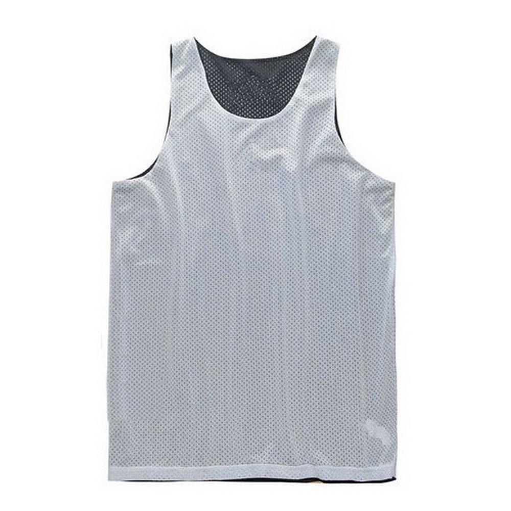 Mesh-Beh/älter Lacrosse Jersey TopTie Reversible Basketball Jerseys