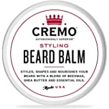Cremo Styling Beard Balm, Astonishingly Superior, Best for all Length Beards, 2 Ounce Can
