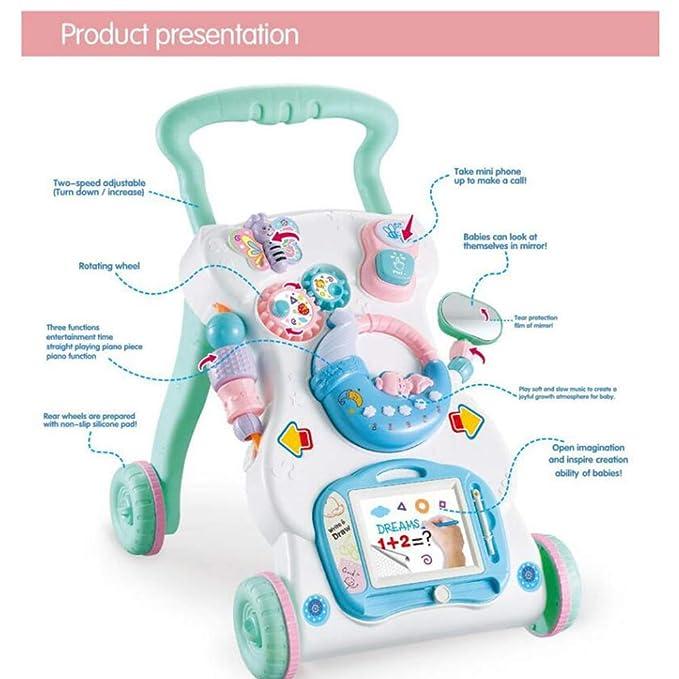 WMYJXD Andador para Bebés, Educación Infantil Temprana ...