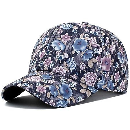Gorra de béisbol Sombrero bonito para mujer Estampado de flores ...