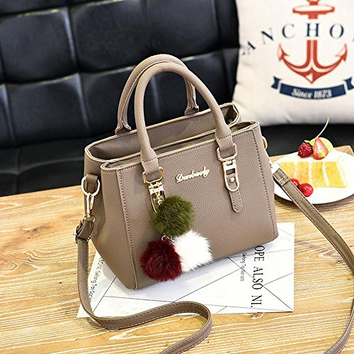 Aoligei mode sac sac féminin Border bandoulière Twin petit de Litchi unique Marée modèle sac Simple B cross cBFq0w1rBZ