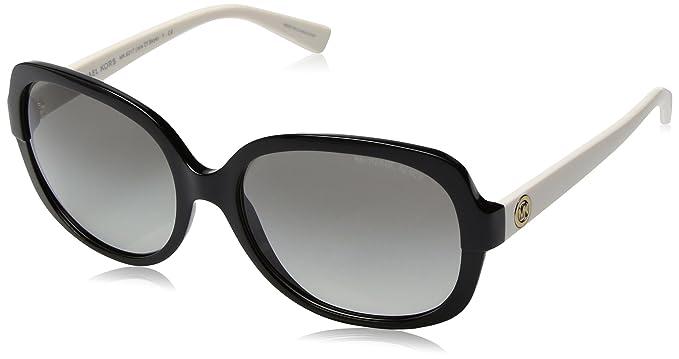 370e34eb70c1 Michael Kors Women's Gradient Isle Of Skye MK6017-305211-58 Black Butterfly  Sunglasses
