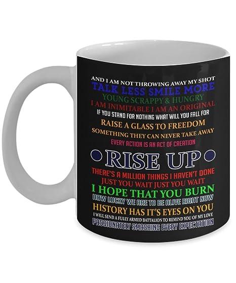 Amazon.com: Alexander Hamilton Mug, Hamilton mug, Musicals ...