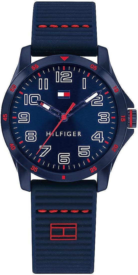 Tommy Hilfiger 32010754 - Reloj de Pulsera para niños (Silicona y plástico), diseño Casual