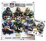 2018 Panini NFL Football Sticker Combo 1 Sticker Album plus 50 Packs (250 Stickers)