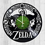 Action-adventure Game Design Vinyl Record Wall Clock - Wonderful bedroom or rest room wall art decoration - Fancy gift idea for adults, youth and teens