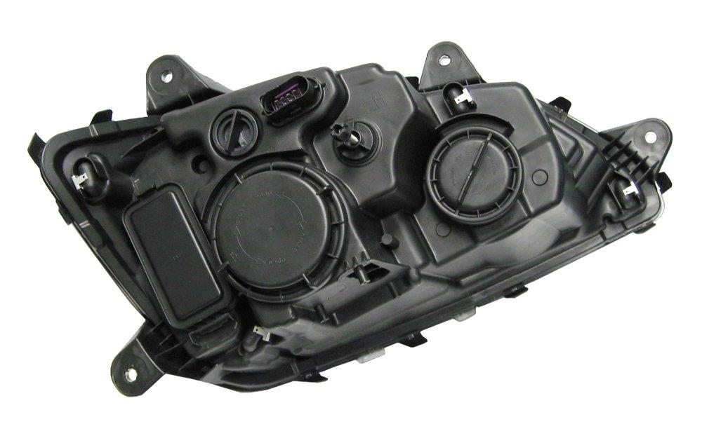 PetaParts PBP 34-485 Driver Side Headlight (Kenworth T660 T600 T370 T270 T170 T470 T440) by PETAPARTS