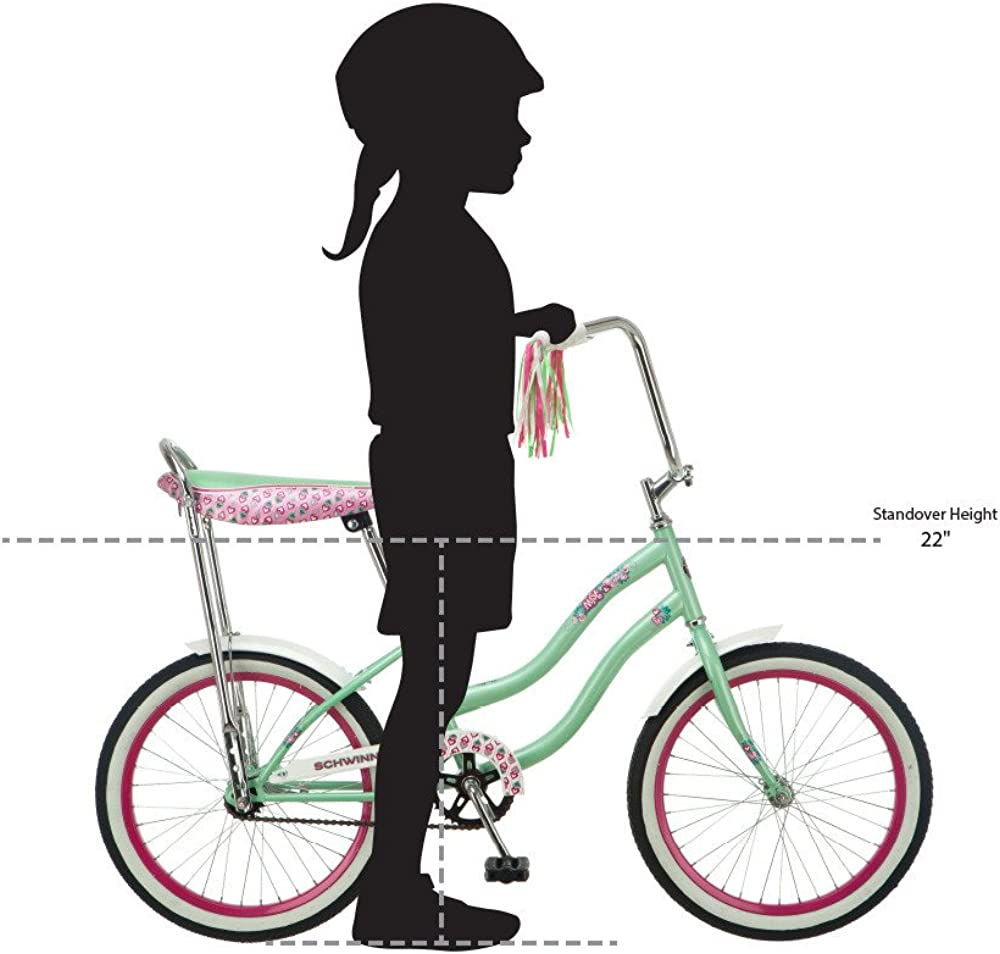 Schwinn - Polo para niña, 50,8 cm, Color Verde Menta: Amazon.es ...