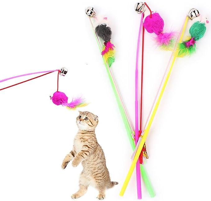 Fossrn 1PC Mascotas Juguetes Gatos interactivos Juguetes Gatos ...