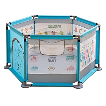 Amazon Com Baby Playpen Play Yard Toddler Safety Indoor Play
