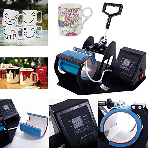Z ZTDM Mug Press Digital Heat Press Transfer Sublimation,Mugs Cups DIY with Dual LCD Timer US Plug 110V by Z ZTDM