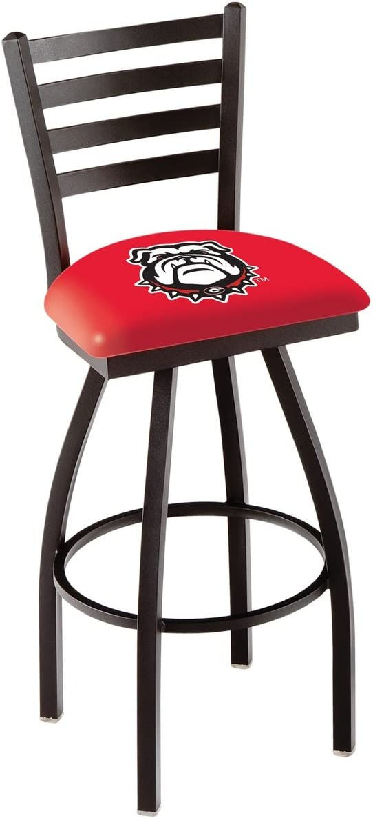 NCAA Georgia Bulldogs Bulldog Logo 30 Bar Stool