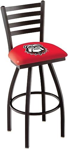 "NCAA Georgia Bulldogs ""Bulldog"" Logo 30″ Bar Stool"