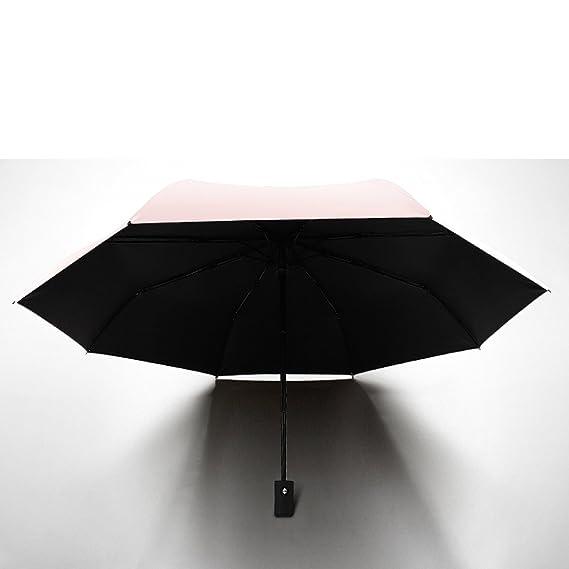 Parasol Compacto Anti UV Paraguas Mini Bolsillo Parasol Ultra Ligero Paraguas A Prueba De Viento Plegable Paraguas Paraguas De Viaje Para Mujeres Bolso Y ...