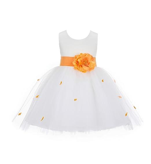 f1f7389656e ekidsbridal Rosebuds Rose Flower Girl Dress Toddler Girl Dress Communion  Dress Graduation Dresses 815S 2