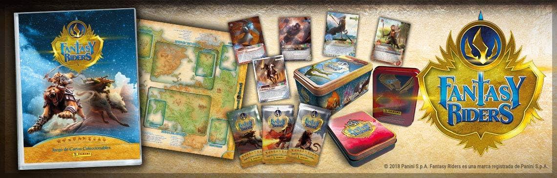 Panini Fantasy Riders - Caja con 50 cartas (003543TINE): Amazon.es: Juguetes y juegos