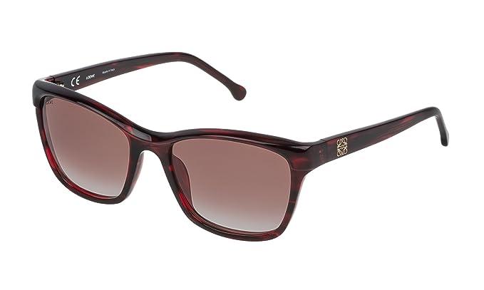 Loewe SLW965M550761 Gafas de sol, Shiny Transparente Honey ...