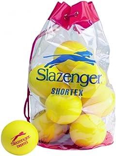 Slazenger Children's d'intérieur/d'extérieur Mini Shortex balle de Tennis-Lot de 12