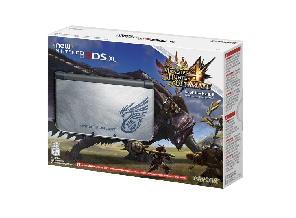 Amazon.com: New Nintendo 3DS XL Monster Hunter 4 Ultimate Edition: Video  Games