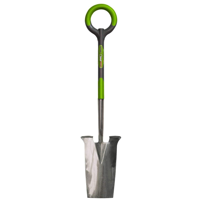 Radius RDG 201 PRO 13 Inch Stainless Steel Spade w/Thermoplastic Elastomer Grip (4 Pack) by Radius Garden (Image #2)