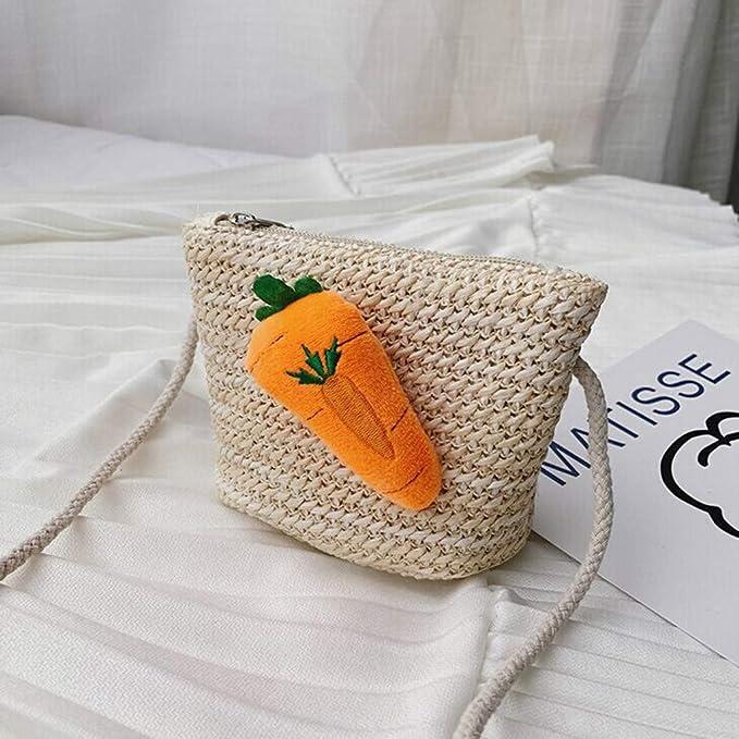 Amazon.com: SUIKI Bolso bandolera para niños, hecho a mano ...