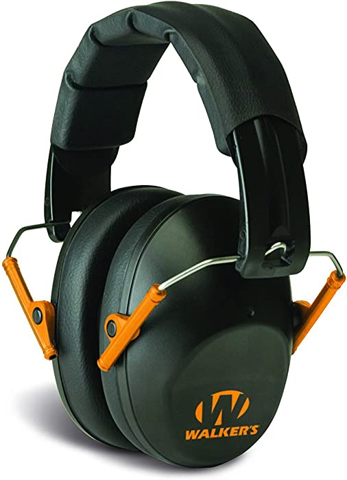 Walker's Hearing Protection Low Profile Passive Folding Muff. Protect It Or Lose It