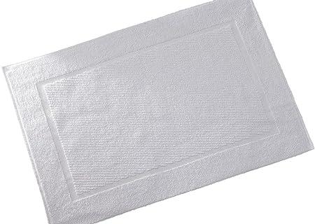 420 g//mq 100/% cotone direttamente dallo specialista per alberghi 5 tappetino da bagno varie dimensioni Asciugamani in pregiata spugna resistente HOTEL SPA bianco