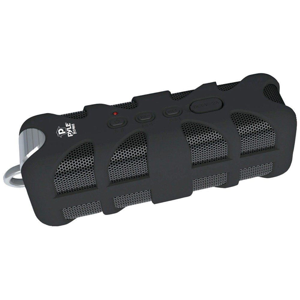 PYLE HOME PWPBTA70BK Soundbox Splash Rugged Bluetooth(R) Speaker (Black; with Aux Input) Computers, Electronics, Office Supplies, Computing by PYLE HOME