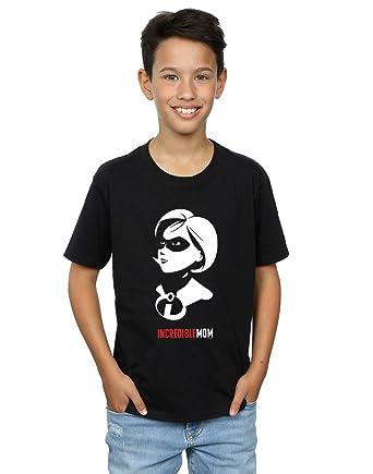 7fa77bde4a5d05 Disney Jungen The Incredibles 2 Incredible Mom T-Shirt Schwarz 5-6 Years