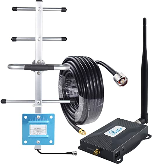 Phonelex Cell Phone Signal Booster Verizon 4G LTE Band13 700Mhz Signal Booster Verizon Cell Phone Signal Amplifier Mobile Phone Booster Repeater with Indoor Ceiling//OutdoorYagi Antenna Kits for Home