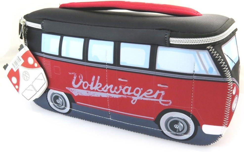 N4532 Volkswagen 29x13x10 cm - Trousse de toilette Volkswagen rouge noir