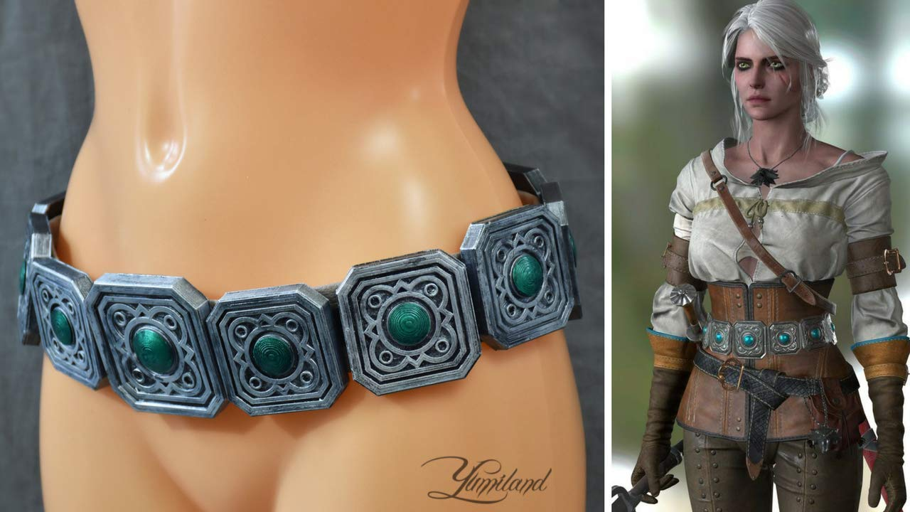 Handmade Ciri inspired belt elements