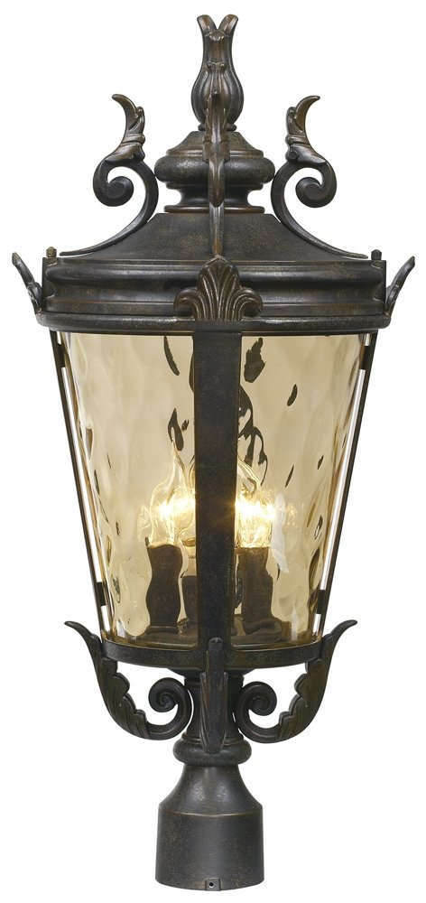 Casa Marseille Collection 25'' High 4-Light Outdoor Post Lamp