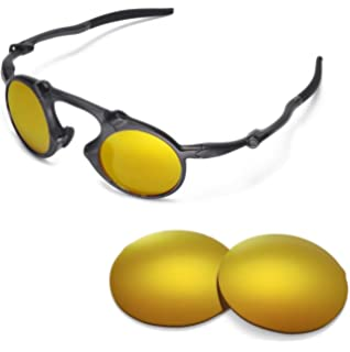 4c34822338 Walleva Replacement Lenses for Oakley Madman Sunglasses - Multiple Options  Available