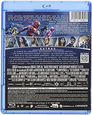 Power Rangers Blu-Ray [Blu-ray]: Amazon.es: Dacre Montgomery ...