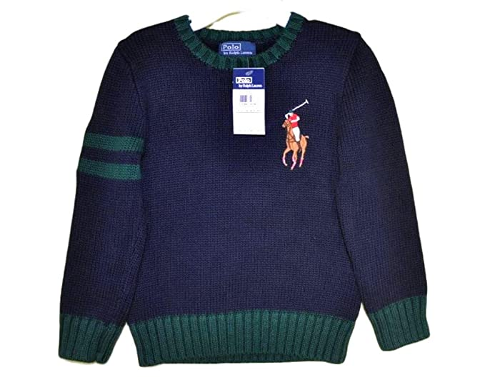 Polo Ralph Lauren Jersey Azul Niño Big Pony 2 y 4 años turquesa ...