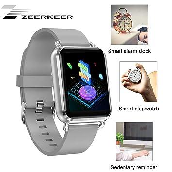 ZEERKEER Smartwatch, Sportarmband Fitness Track Blutdruck ...