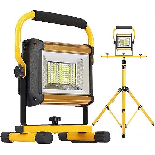 Luz De Trabajo Portátil 100W LED Proyector Recargables ...