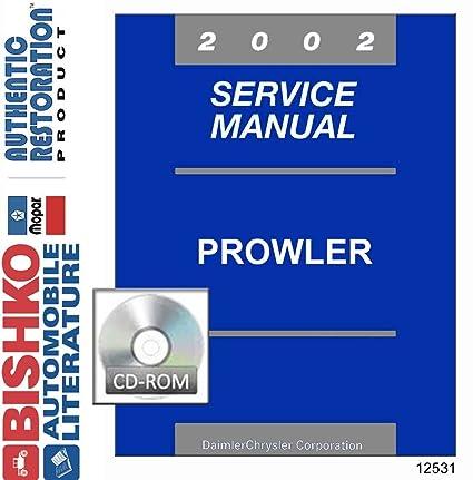 amazon com bishko automotive literature 2002 plymouth prowler shop  bishko automotive literature 2002 plymouth prowler shop service repair manual cd engine wiring oem