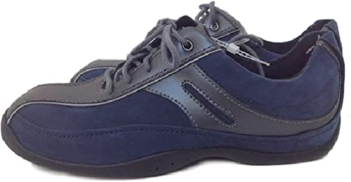 NEW Clarks Womens Leather Navy Blue