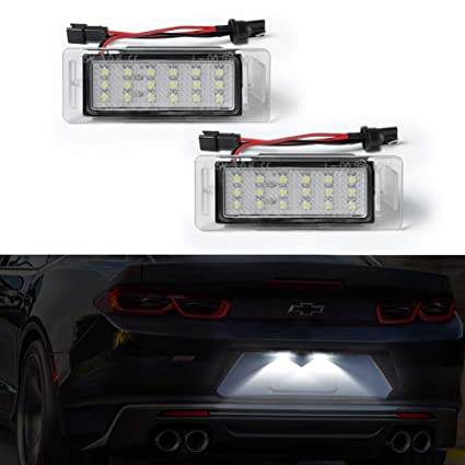 amazon com license plate light, gempro 2pcs led number plate lamp