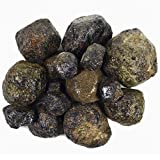Hypnotic Gems Materials: 11 lbs Bulk Rough Large Mud Garnet Stones from India - Raw Natural Crystals for Cabbing, Cutting, Lapidary, Tumbling, Polishing, Wire Wrapping, Wicca & Reiki Crystal Healing