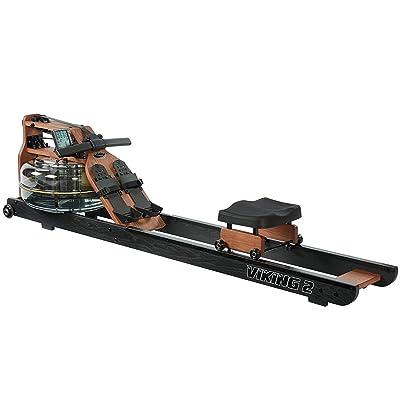 First Degree Fitness Viking II Black Reserve Indoor Rowing Machine