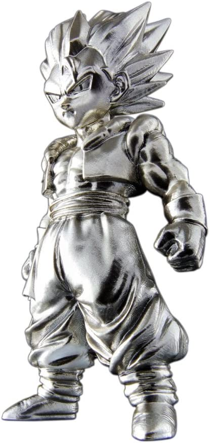 Bandai- Gogeta Mini Figura de 7 cm, Dragon Ball Z Series 2 Absolute Chogokin (BDIDB112198) , color/modelo surtido